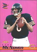 1999 Pacific Prisms Holographic Purple Bears Football Card 27 Cade Mcnown /320