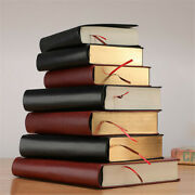 Thick Leather Vintage Writing Journal Notebook Paper Diary Planner A5/a6/b5 Size