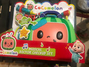 Cocomelon Musical Doctor Checkup Set Case 4 Play Pieces Brand New In Hand Fast