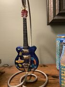 Christopher Radko The Beatles Strumming Away In Pepperland Ornament W/stand