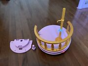 Disney Princess Ultimate Dream Castle Upper Balcony And Railing Complete W/ Stand