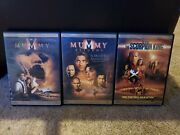 The Mummy 1 2 And 3 Brendan Fraser Trilogy Blu-ray Collection 3 Movies