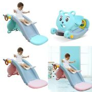 5in1 Child Baby Climbing Stair Rocking Horse Suit For Indoor Backyard Basket Hua