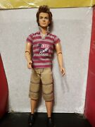 Barbie Fashionistas Sporty Ken Articulated Poseable Doll Ryan Original Outfit
