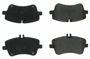 Centric Brake Parts 100.08721 Discontinued - Oe Formul A Brake Pads With Hardwa