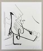 Albert Oehlen -limited Edition Print-sold Out