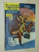 Classics Illustrated 153 The Invisible Man Aust/uk Edition 2sh Over 1/3 Vg- 3.5