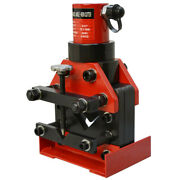 Hydraulic Angle Iron Cutter Steel Cutting 3/8 10mm Thickness 30 Ton Force