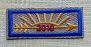 2010 Anniversary Cub Scout Rank Patch ... Arrow Of Light