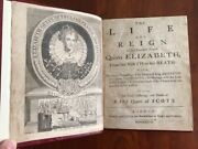 Rare 1738 Life And Reign Of Princess Queen Elizabeth Death On Scaffold London