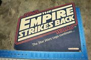 Star Wars Empire Strikes Back Store Display Sign 106e