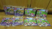 Lego Friends Polybags 4 X 30411 Heart Box And 30399 Bowling New