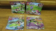 Lego Friends Polybags 30411 Heart Box 30399 Bowling 30202 Cart 30115 Swamp New