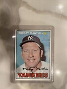 1967 Topps 150 Mickey Mantle. Ungraded Pride Of My Collection In Amazing Cond.