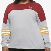 Harry Potter Quidditch Girls Athletic Jersey Plus Size 3