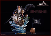 Yunqi Studio One Piece Red Hair Shanks Gk Collector Resin Painted Limited Statue