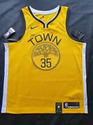 Kevin Durant Mens Nike Swingman Jersey City Size Xl Golden State Warriors
