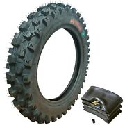 Wig Racing 3.00x12 80/100-12 Tire And Tube Combo Ttr110e Klx110. Drz110