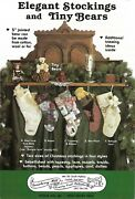 Victorian Christmas Stockings And 5 Jointed Teddy Bear Pattern Gooseberry Hill
