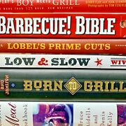 Carnivorous Book Bundle - Lot Of 7 Cookbooks On Cooking Meat - Bbq Grilling...