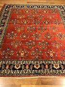 Area Rug Fine Gabeh Square Hand Knotted Decorative Design 7.0 X 7.0 Great Price