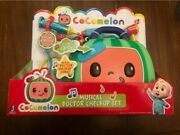 Cocomelon Musical Doctor Check Up Case Set Kit Toy