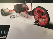 Snapon Tools 20andrdquo Tri-wheel Thrill Ride Bicycle