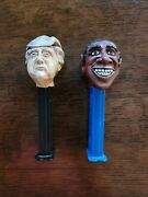 Pez - Custom Artist Made Trump And Obama Pez Dispensers - New And Well Made