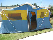 1 Gigantic Sears Williams Tent Continental Canvas 16and039x10and039 Pick Up California