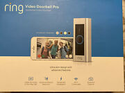 Ring Video Doorbell Pro 1080p Video Motion Activated Alerts Easy Installation