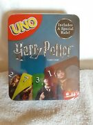 Harry Potter Uno Card Game In Metal Tin Includes A Special Rule Brand New