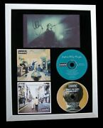 Oasis+liam Gallagher+signed+framed+definitely+story=100 Genuine+fast World Ship