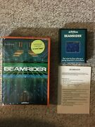 Beamrider - Atari 2600 Hes - Complete Near Mint Very Rare Tested Working