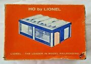 Lionel H.o. 0115 - Engine House With Lionel 0115-3 Box And 0115-6 Parts Packet