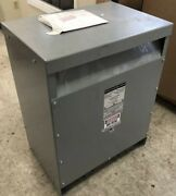 Used Mgm 75 Kva 208/240/480-400y/231 Copper Wound K13 Rated Transformer