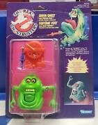 Slimer Green Ghost W/ Proton Pack Kenner The Real Ghostbusters Vintage Nib 1986