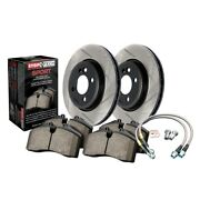 Stoptech 977.46001f Sport Axle Pack Brake Kit For 08-15 Mitsubishi Lancer New