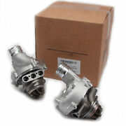 2x Water-cooled Turbocharger Turbo Chargers Set Fit For Audi A8 S8 Quattro 4.0t