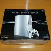 New Playstation 3 Silver 40gb Console Ps3 Japan Collectors Item