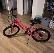 Bca 20 Crossfire 6-speed Girland039s Mountain Bike Steel Frame Knobby Tires Bicycle