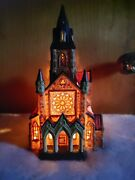 Dickens Collectablesvictorian Seriesporcelain Lighted House383-8406church