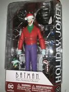 Batman Animated Series Christmas With Holiday Joker Figure Dc Collectibles 6andrdquo