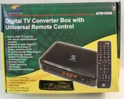 Sunkey Electronic Digital Tv Converter Box Atb150s With Remote