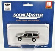 Walthers Scenemaster 949-12043 Ford Expedition Police Silver Unmarked Unit
