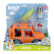 Bluey - Official And Licensed Mini Figurines Vehicle - Heeler 4wd Family Car New