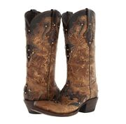 Lucchese Autumn Dry Leaf Boot