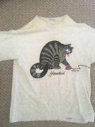 Vintage Kliban Crazy Shirts Cat On Computer Mouse Shirt By Crazyshirts, Small