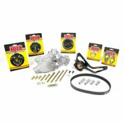Krc Kit16322600 Pulley Kit 6 Rib Serpentine For Small Block Chevy New