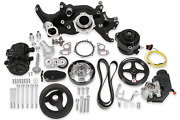 Holley 20-185bk Ls Mid-mount Complete Engine Accessory System
