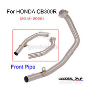 For Honda Cb300r 2018-2020 Front Header Link Pipe Exhaust Connecting Tube Slip